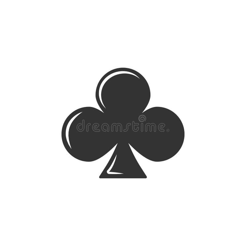 Icona del segno della carta da gioco Elemento dell'icona dell'aeroporto per i apps mobili di web e di concetto L'icona dettagliat illustrazione di stock