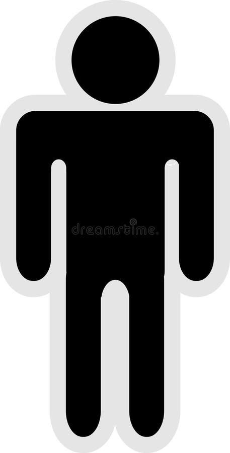 Icona del signore illustrazione vettoriale