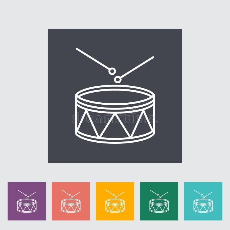 Icona del tamburo royalty illustrazione gratis