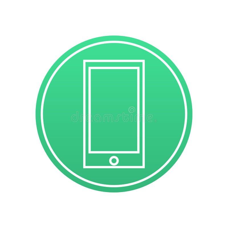 Icona del telefono fotografie stock libere da diritti
