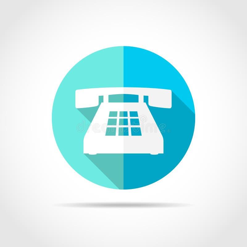 Icona del telefono Illustrazione di vettore royalty illustrazione gratis