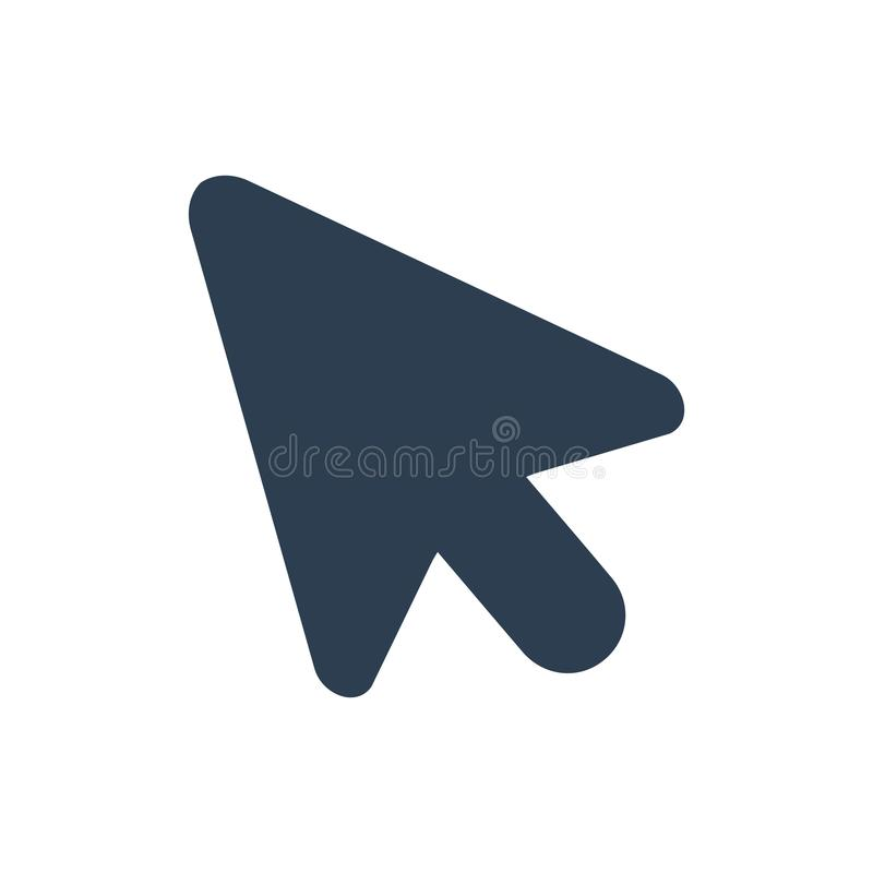Icona del topo del computer illustrazione vettoriale