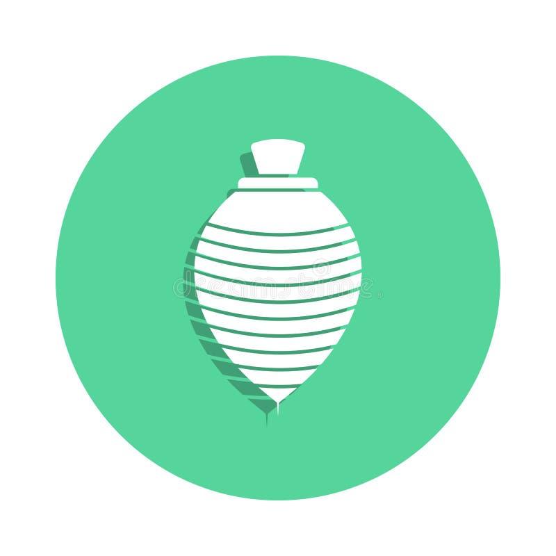 icona del yule nello stile del distintivo Uno dell'icona della raccolta dei giocattoli può essere usato per UI, UX illustrazione vettoriale