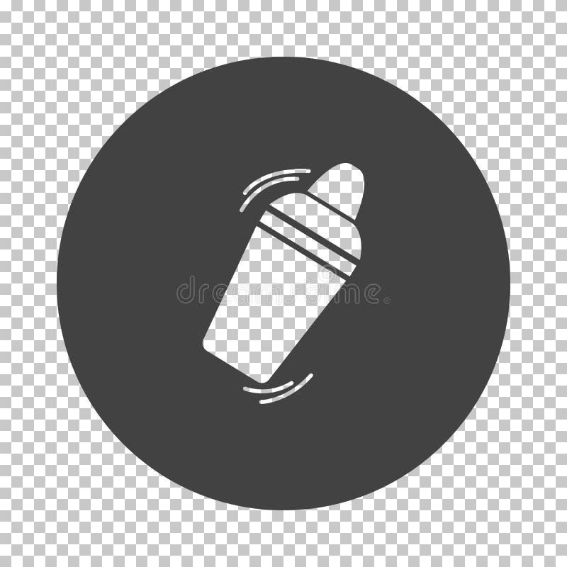 Icona dell'agitatore di Antivari illustrazione di stock