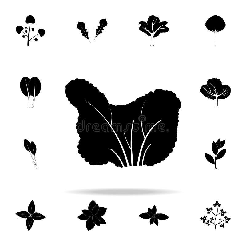 icona dell'albero del mirtillo Insieme universale delle icone delle piante per il web ed il cellulare illustrazione di stock