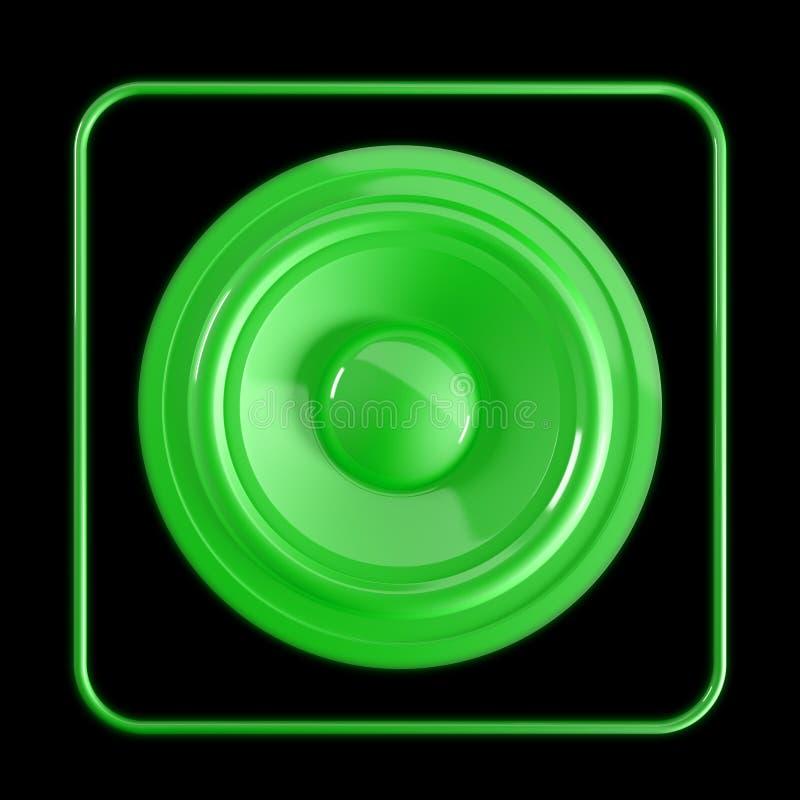 Icona dell'altoparlante illustrazione vettoriale