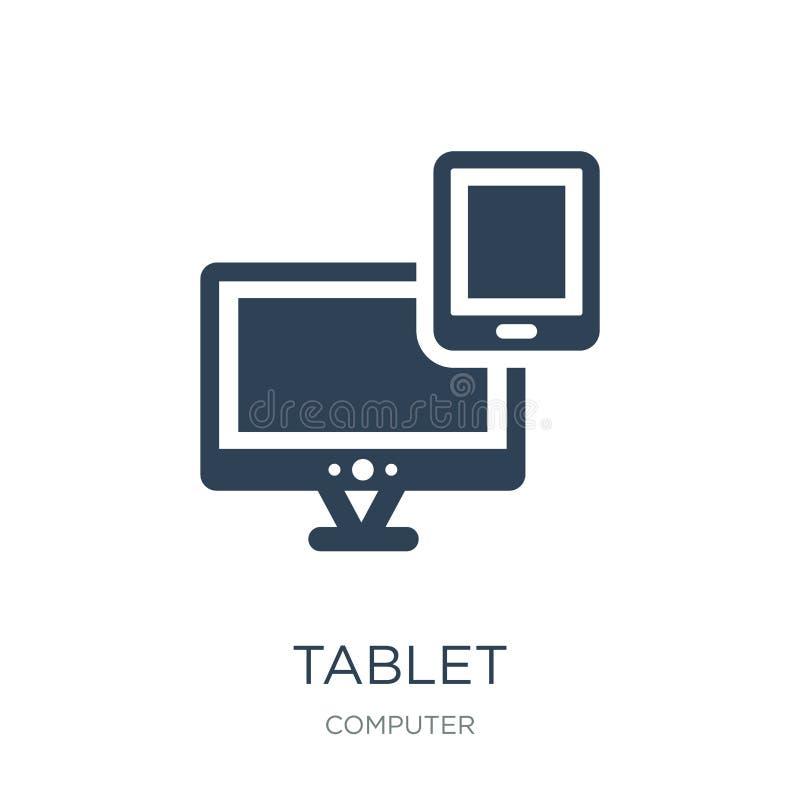 icona dell'apparecchio elettronico della compressa nello stile d'avanguardia di progettazione icona dell'apparecchio elettronico  royalty illustrazione gratis