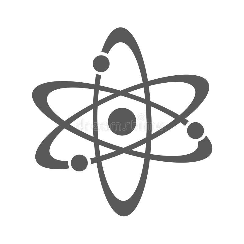 Icona dell'atomo semplice royalty illustrazione gratis