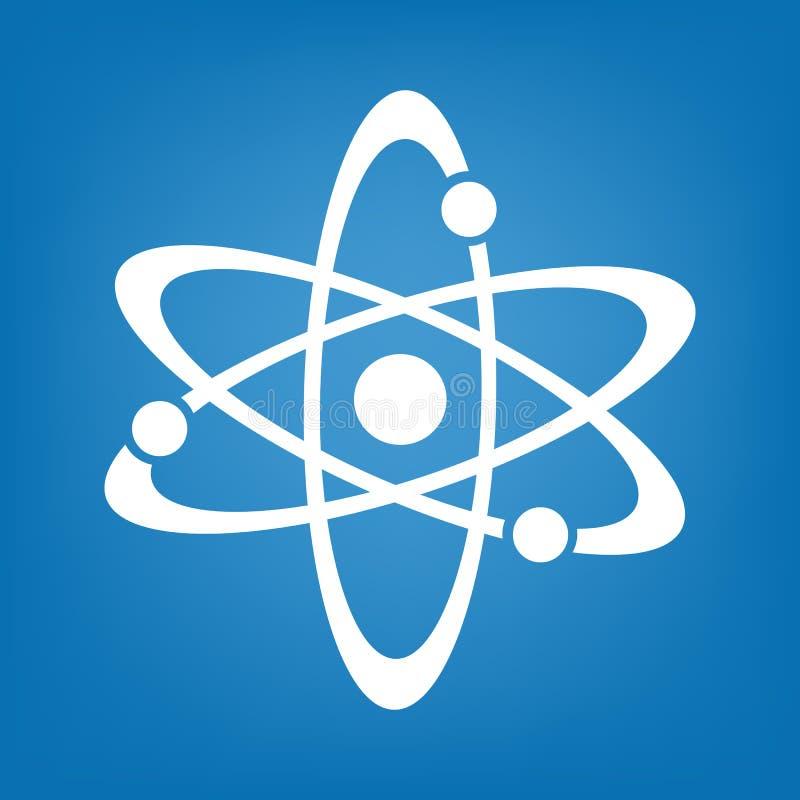 Icona dell'atomo semplice illustrazione vettoriale