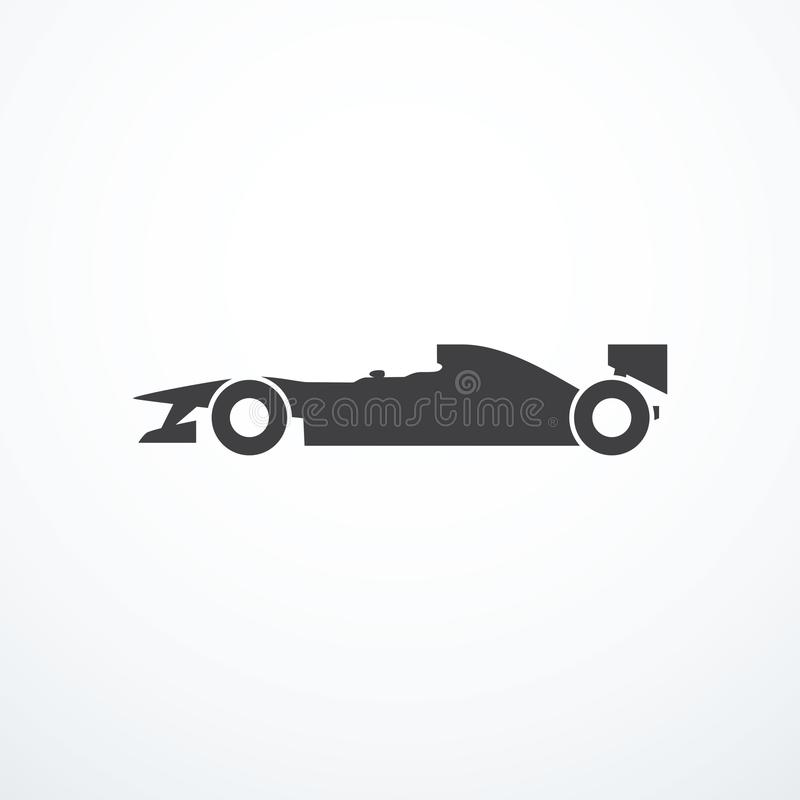 Icona dell'automobile di formula royalty illustrazione gratis