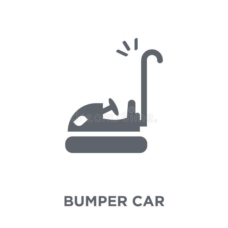 Icona dell'automobile di paraurti dalla raccolta di spettacolo illustrazione di stock