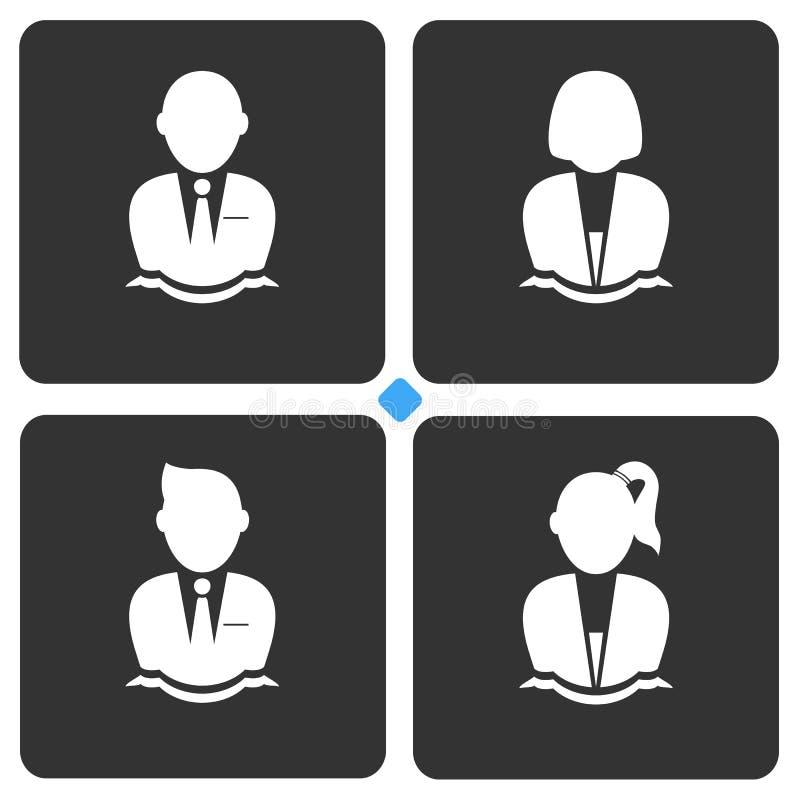 Icona dell'avatar fotografia stock libera da diritti