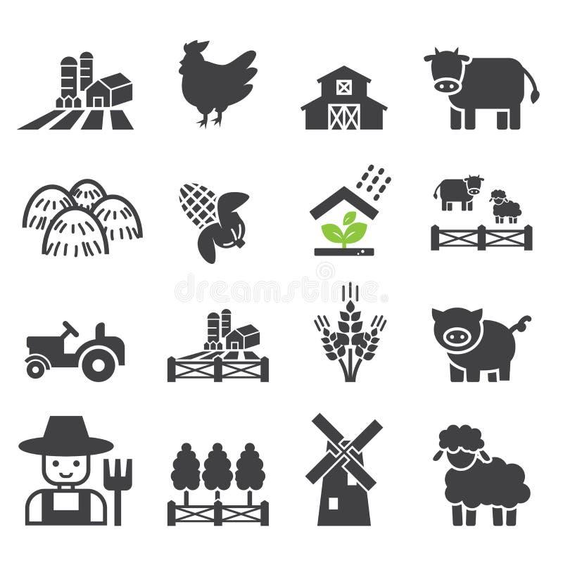 Icona dell'azienda agricola royalty illustrazione gratis