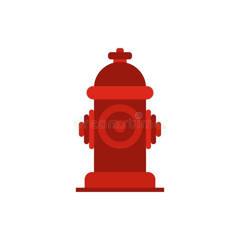 Icona dell'idrante antincendio illustrazione di stock