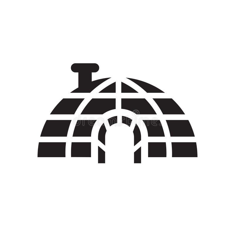 Icona dell'iglù  illustrazione vettoriale