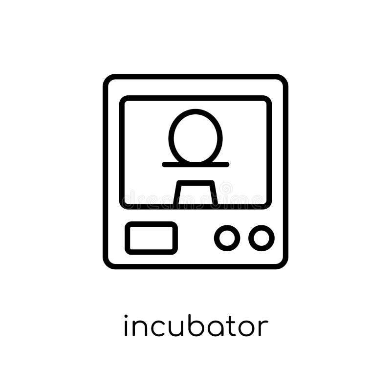 Icona dell'incubatrice  illustrazione di stock
