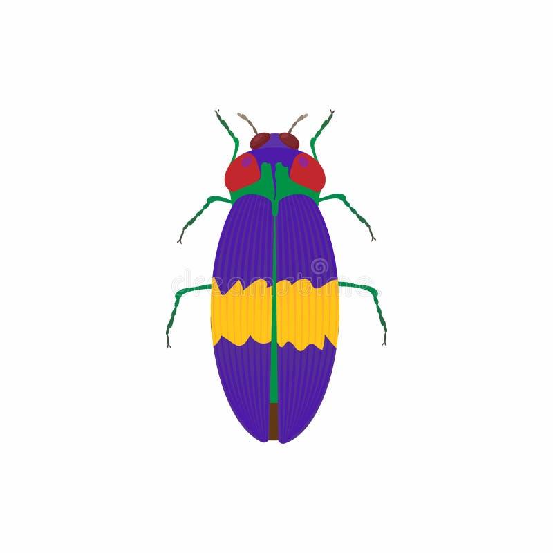 Icona dell'insetto, stile del fumetto royalty illustrazione gratis