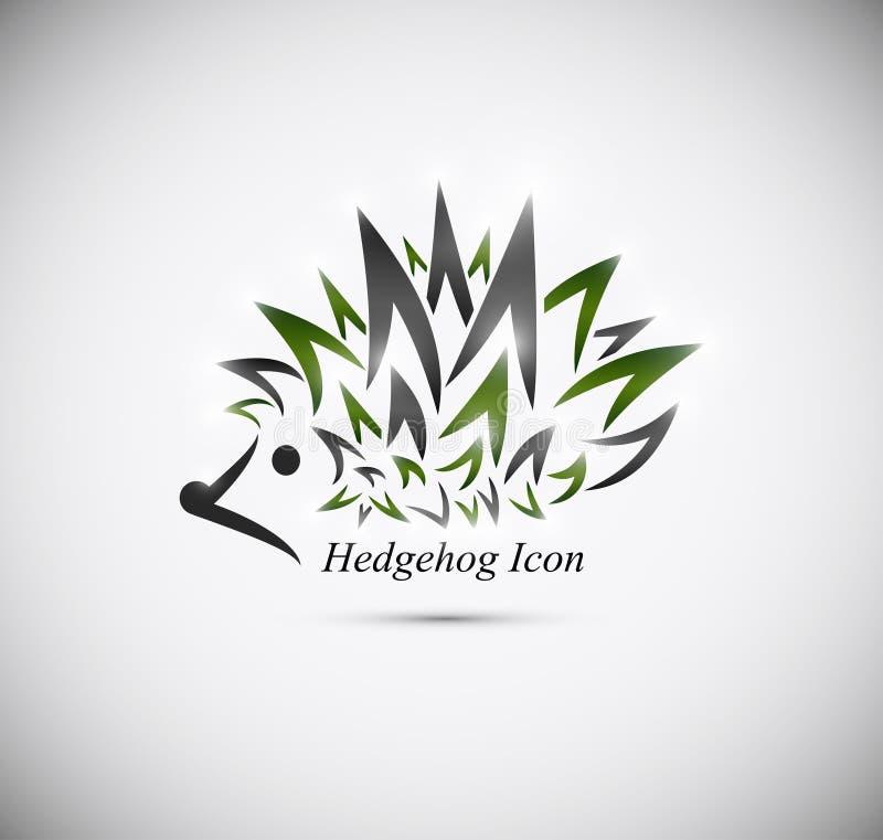 Icona dell'istrice illustrazione vettoriale