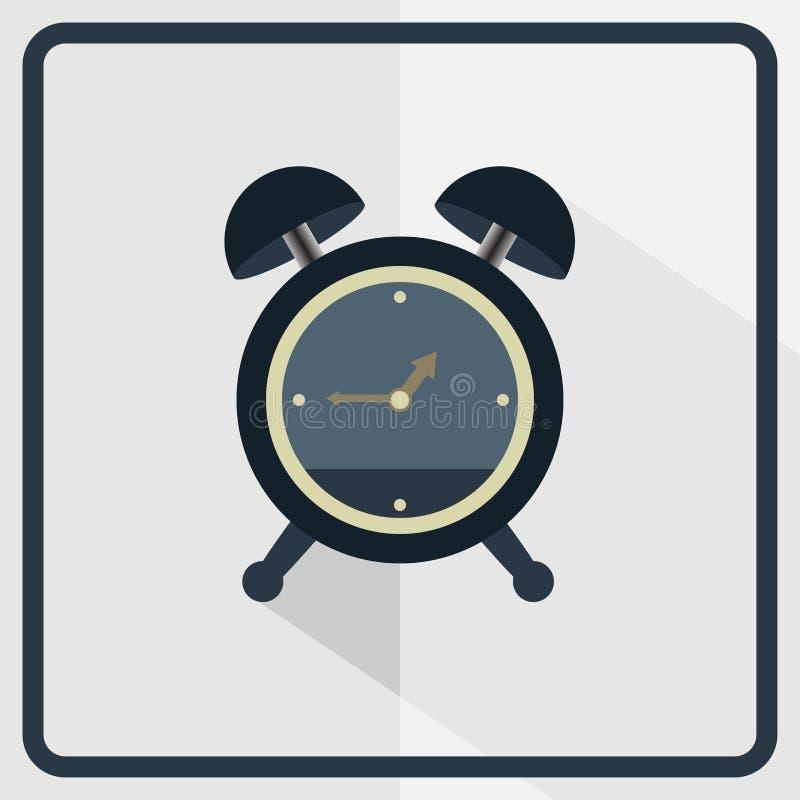 Icona dell'orologio di Alram immagini stock