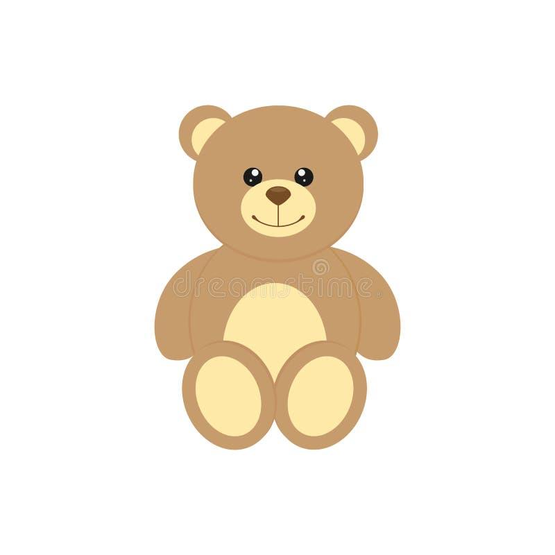 Icona dell'orsacchiotto royalty illustrazione gratis