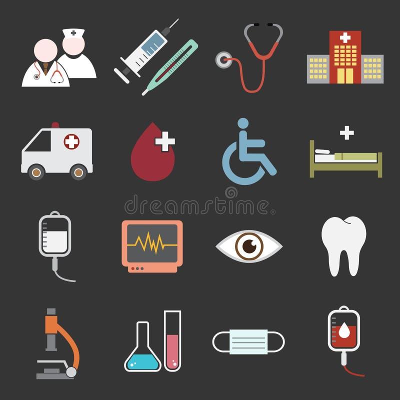 Icona dell'ospedale royalty illustrazione gratis