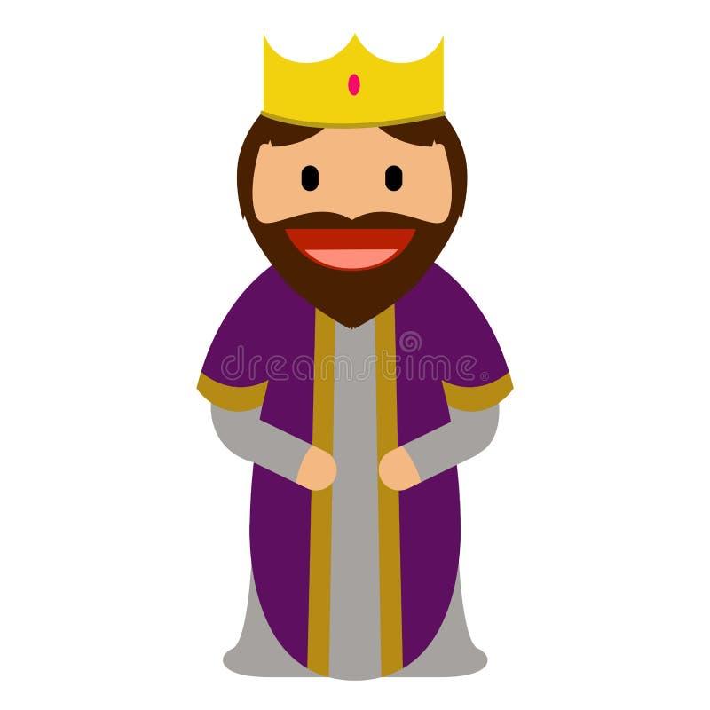 Icona dell'uomo saggio royalty illustrazione gratis