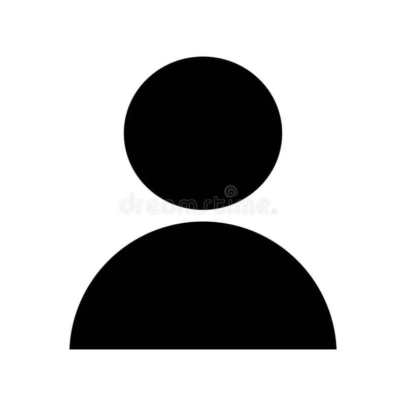 Icona dell'uomo dell'utente royalty illustrazione gratis