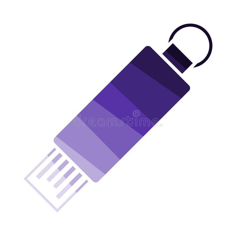 Icona dell'USB Flash illustrazione vettoriale