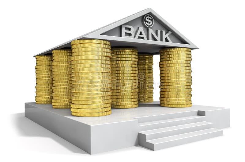 Icona della Banca illustrazione di stock