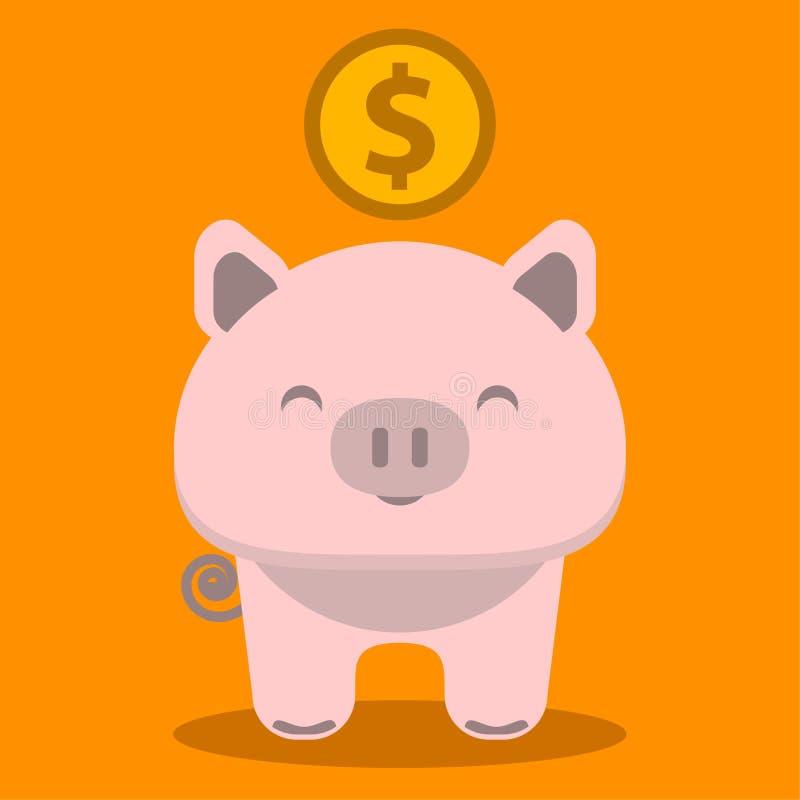 Icona della Banca Piggy illustrazione vettoriale