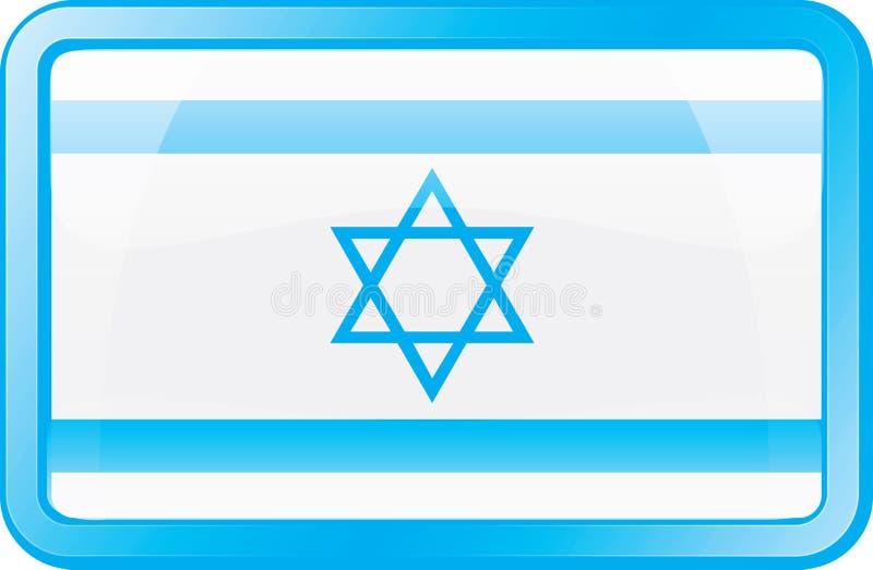 Icona della bandierina dell'Israele royalty illustrazione gratis