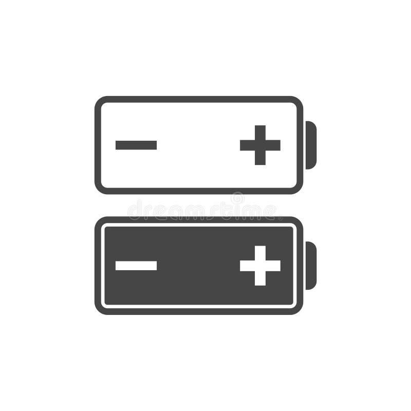 Icona della batteria illustrazione vettoriale