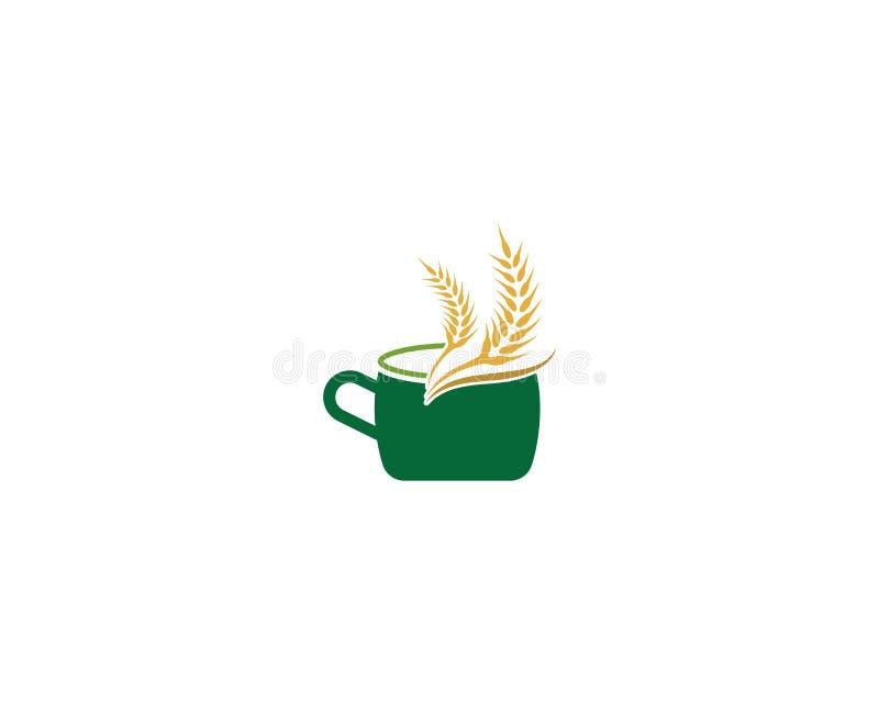Icona della bevanda del cereale royalty illustrazione gratis