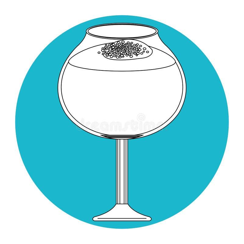 Icona della bevanda del cocktail royalty illustrazione gratis