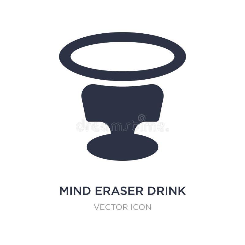 icona della bevanda della gomma di mente su fondo bianco Illustrazione semplice dell'elemento dal concetto delle bevande royalty illustrazione gratis
