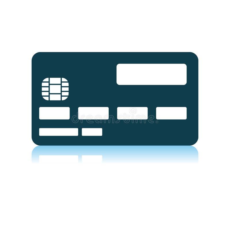Icona della carta di credito illustrazione di stock