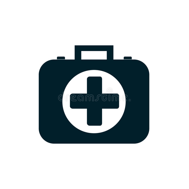 Icona della cassetta di pronto soccorso illustrazione vettoriale