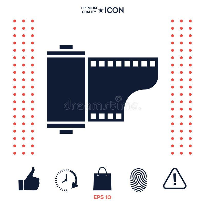 Download Icona Della Cassetta Della Pellicola Fotografica Illustrazione Vettoriale - Illustrazione di fotographia, contenitore: 117976301