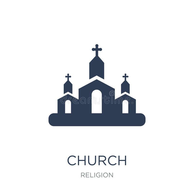 Icona della chiesa  illustrazione di stock