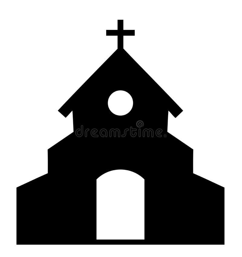 Icona della chiesa di vettore illustrazione vettoriale