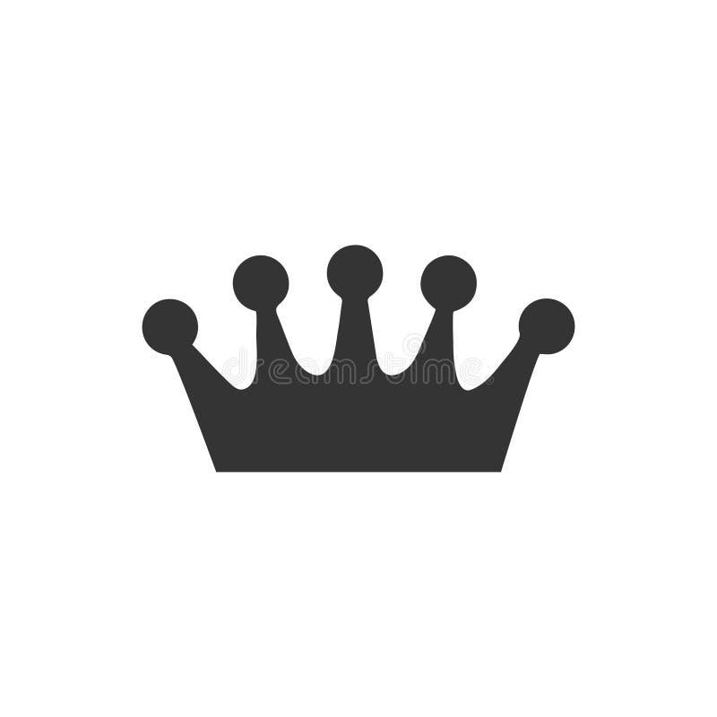 Icona della corona illustrazione di stock