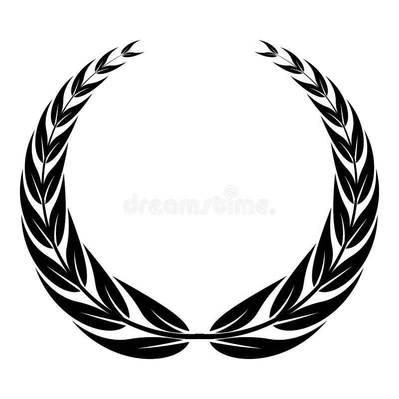 Icona della corona della corona, stile semplice royalty illustrazione gratis