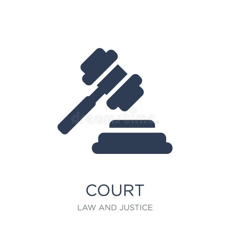 Icona della corte  illustrazione vettoriale