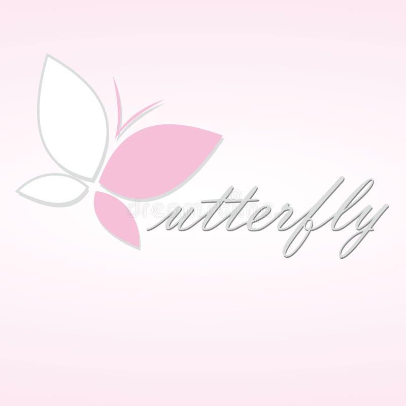 Icona della farfalla illustrazione vettoriale