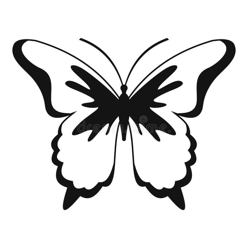 Icona della farfalla dell'insetto, stile semplice royalty illustrazione gratis