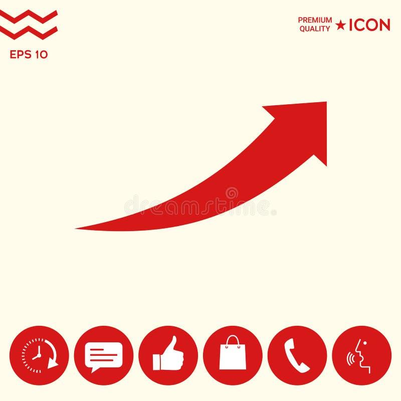 Download Icona della freccia - su illustrazione vettoriale. Illustrazione di dopo - 117982151