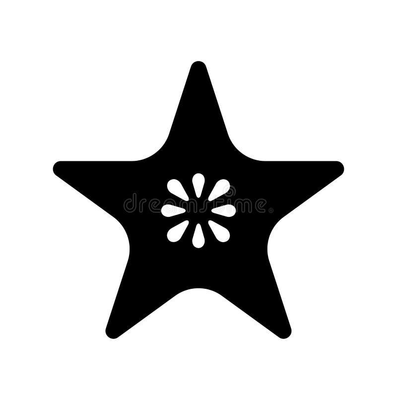 Icona della frutta di stella  royalty illustrazione gratis