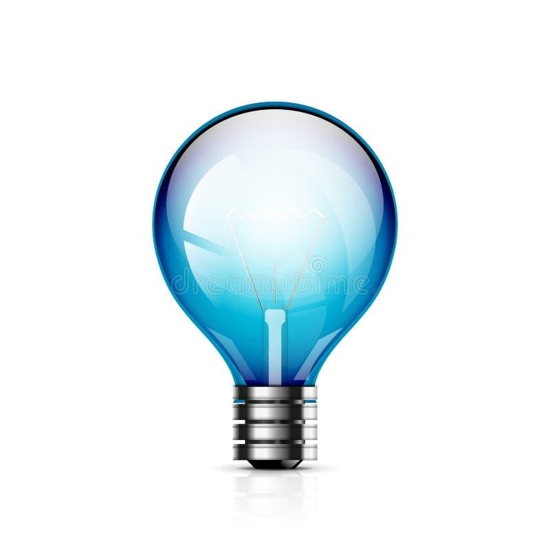 Icona della lampadina di vettore royalty illustrazione gratis
