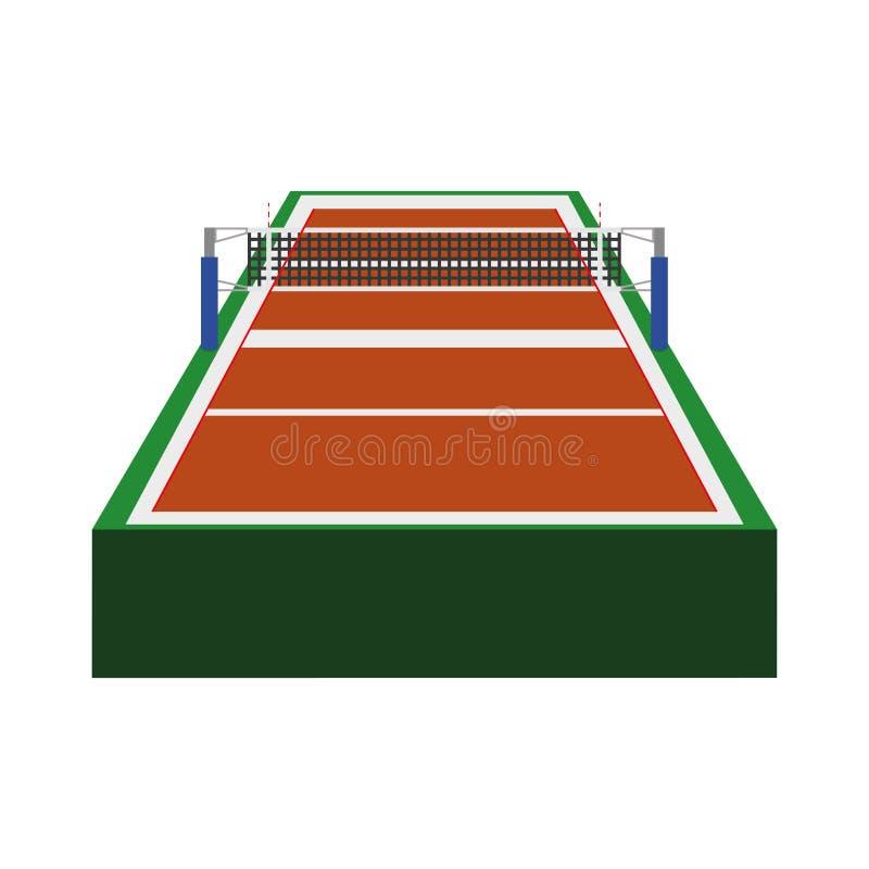 Icona della lega di pallavolo Concetto di sport Grafico di vettore illustrazione di stock
