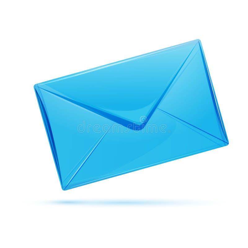 Icona della lettera illustrazione vettoriale